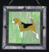 Window Art:  Beagle