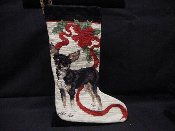 Chihuahua Needlepoint Stocking