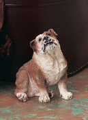 Dog Figurine-Bulldog