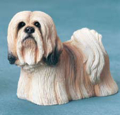 Dog Figurine-Lhasa Apso