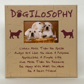 Dogilosophy Picture Frame