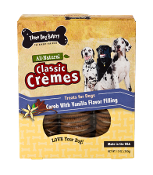 Three Dog Bakery Cookies- Carob & Vanilla