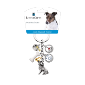 Charm Key Chain- Jack Russell Terrier